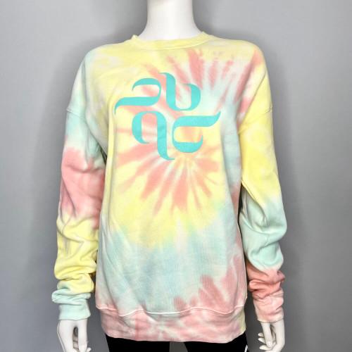 Burju Logo Sweatshirt - Tie Dye