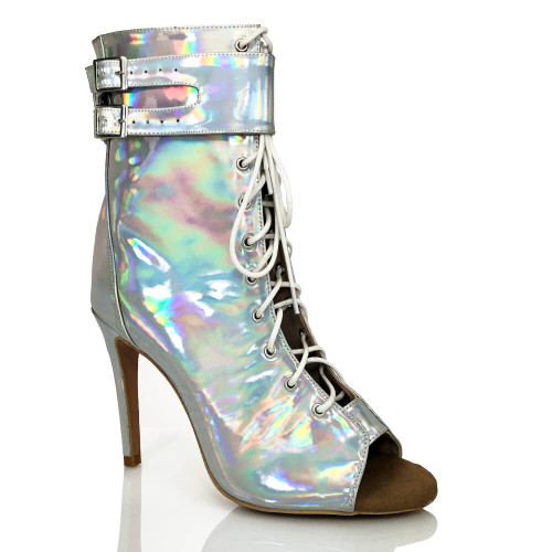 Under-the-influence-holographic-silver-metallic-ankle-boot-1