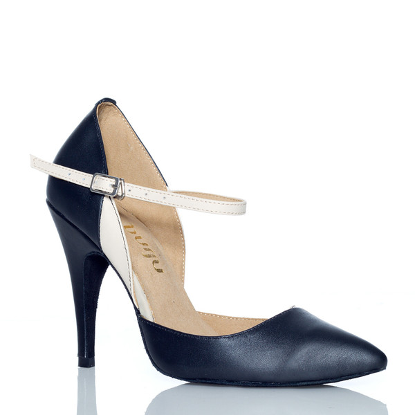 Charlotte - Closed Toe Heels Pump - Custom Made To Order - B1330