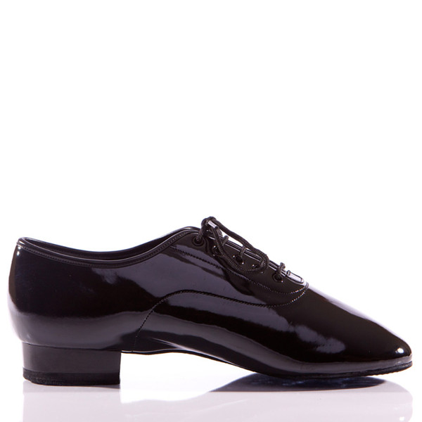 Enrique - Men's Patent Leather Dance Shoe - Standard Heels