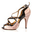Arlette - Strappy Open Toe Stiletto Dance Shoe - 4 inch Heels
