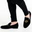 Royalty - Suede Burju Logo Loafer