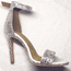 Crystal Desiree - Crystal Embellished Open Toe Ankle Strap Heels Sandal - Custom Made To Order