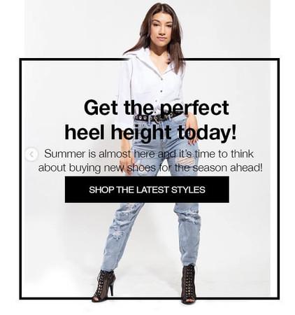 How to get heavenly heels!