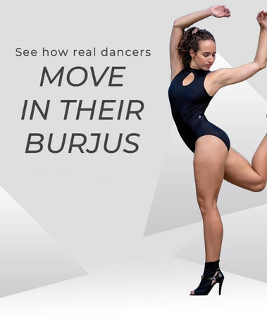 See How Real Dancers Move in Their Burju Shoes