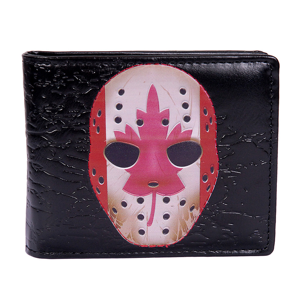 Vintage Goalie Masks - Mens Wallet