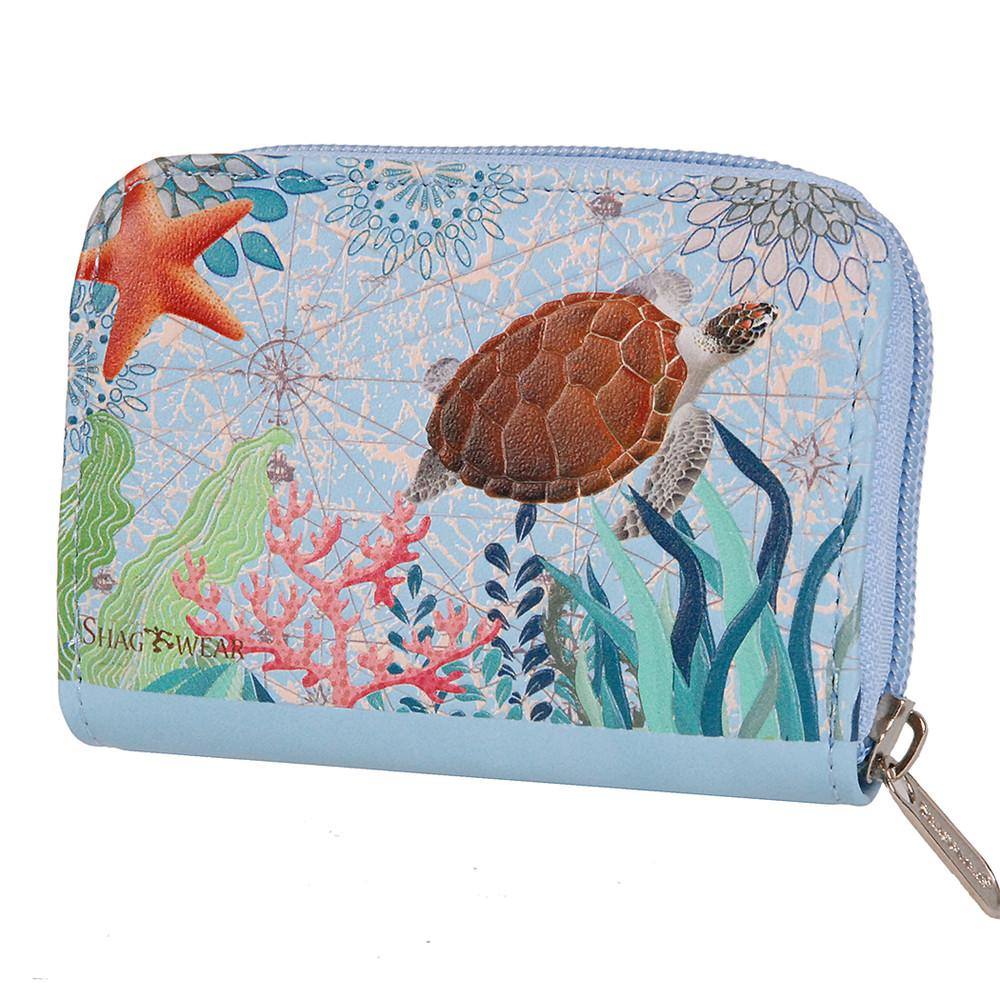 Sea Turtle - Coin and Card Purse
