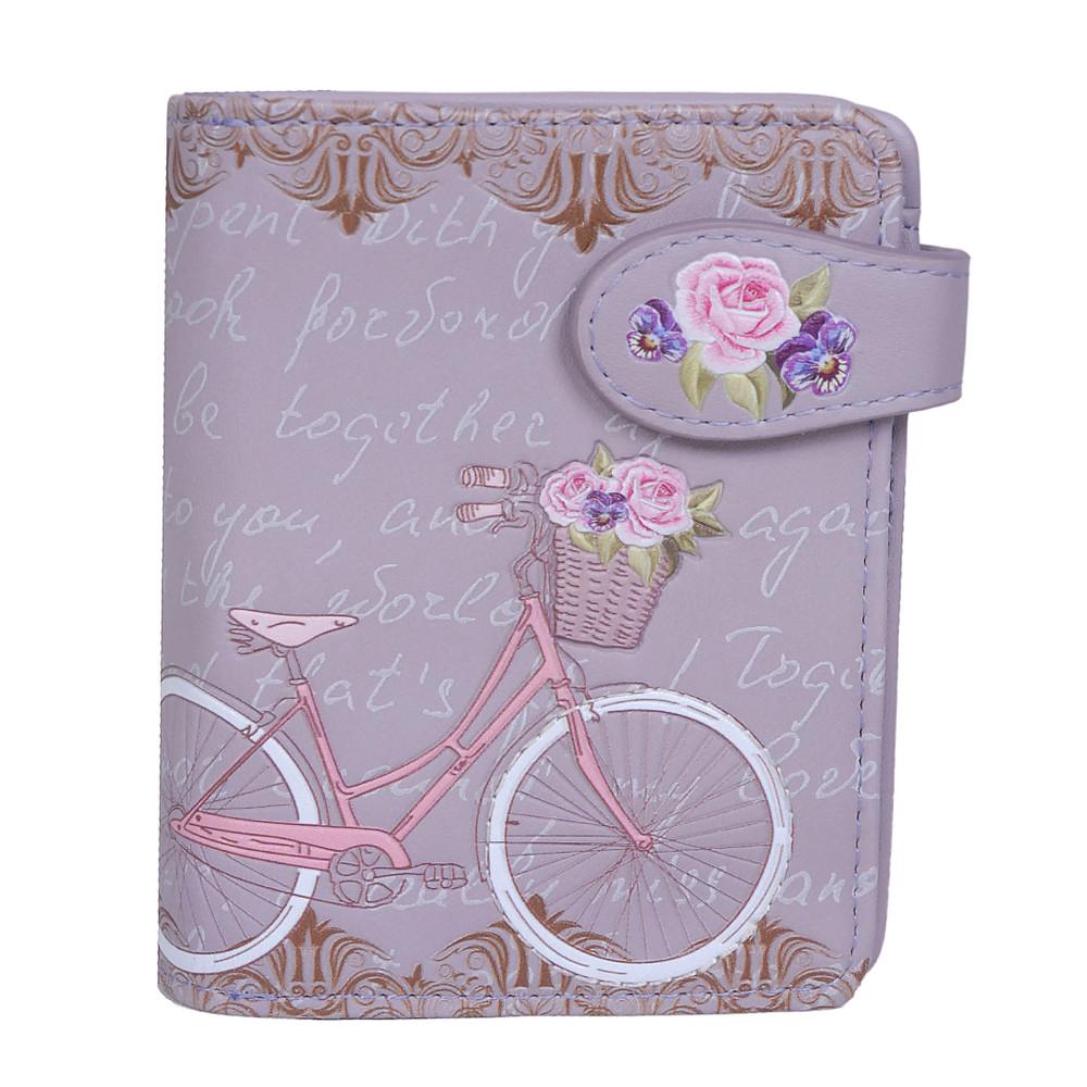 D'amour - Paris Bicycle - Small Zipper Wallet