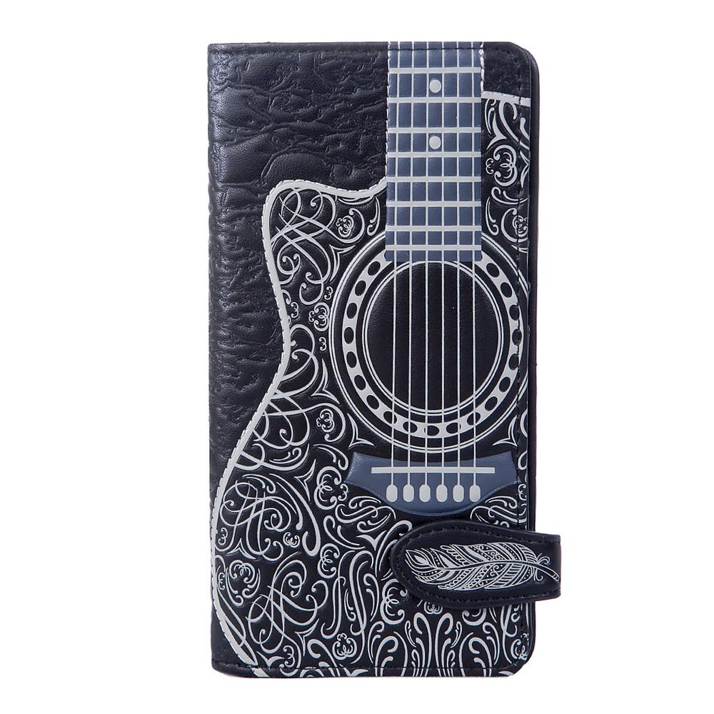 Artistic Guitar - Large Zipper Wallet