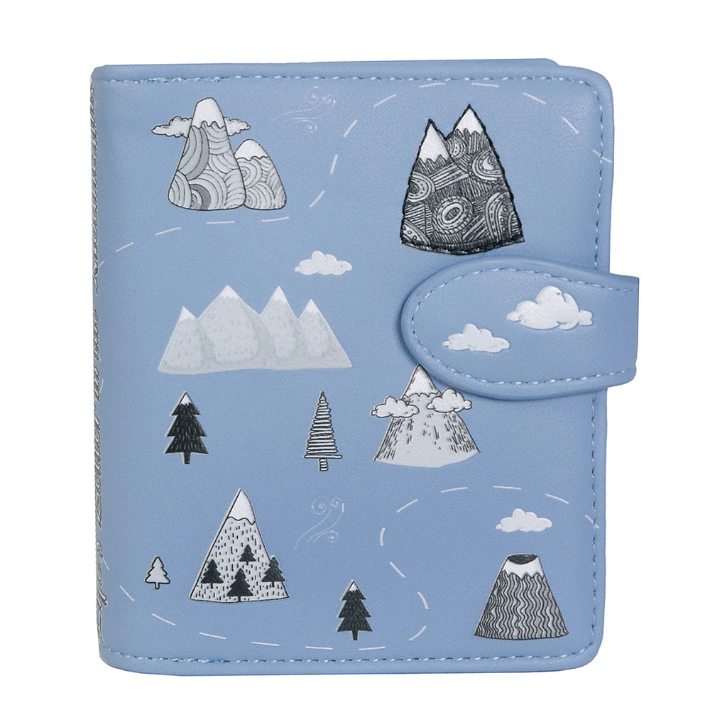 Life's Better in the Mountains - Small Zipper Wallet