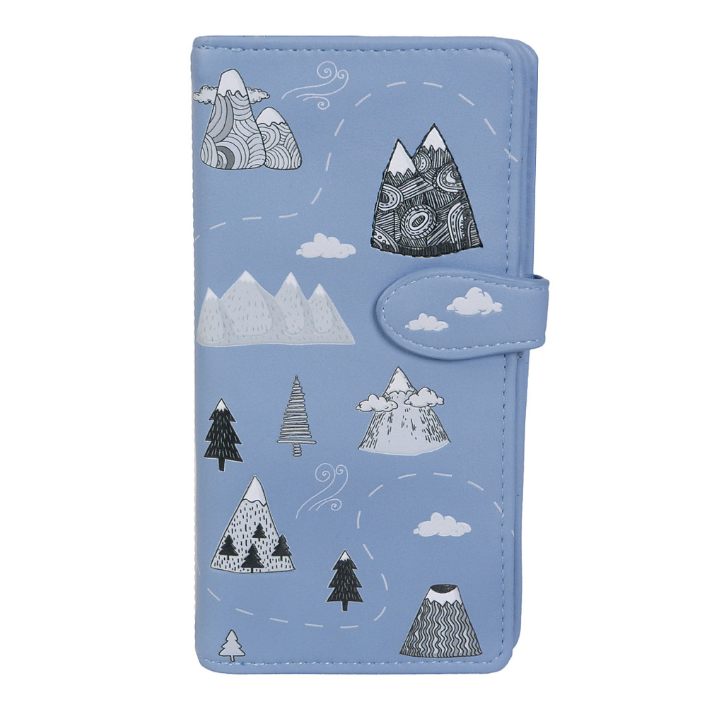 Life's Better in the Mountains - Large Zipper Wallet