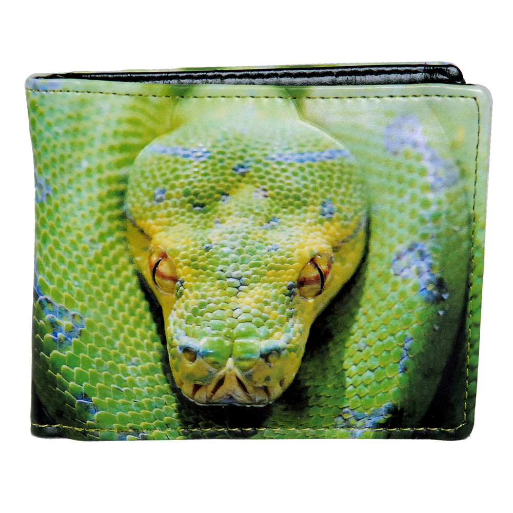 Green Tree Python - Mens Wallet