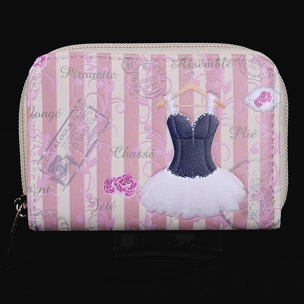 Vintage Ballerina - Coin and Card Purse