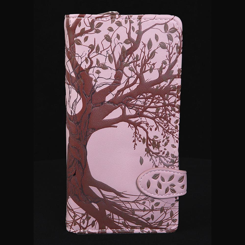 Old Tree - Large Zipper Wallet