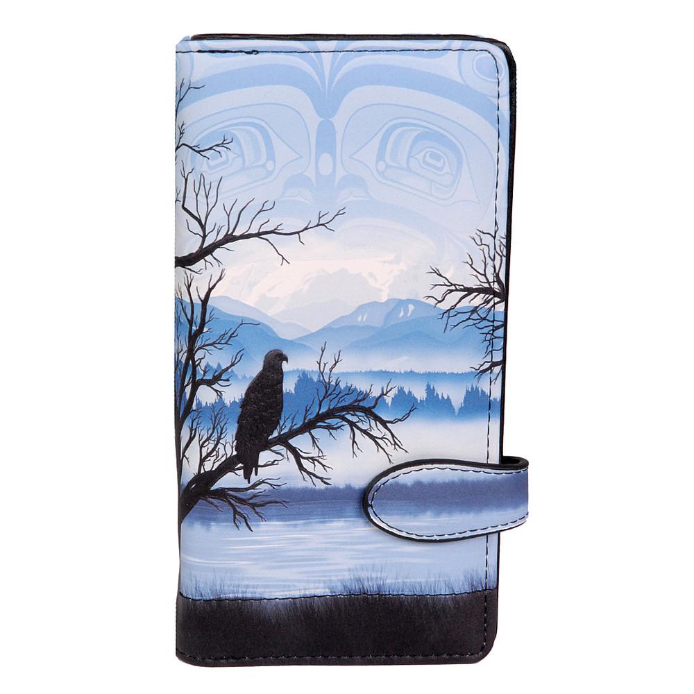 Home - Eagle Perch - Large Zipper Wallet