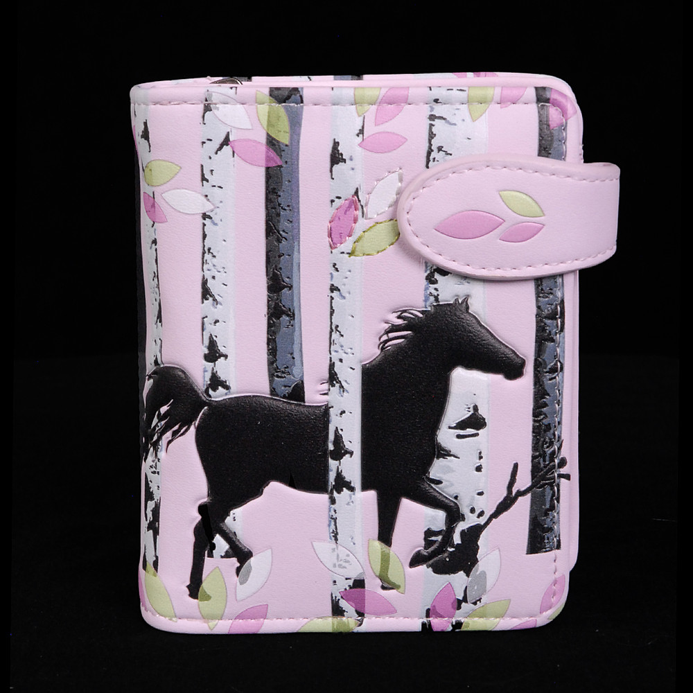 Forest Horses - Small Zipper Wallet