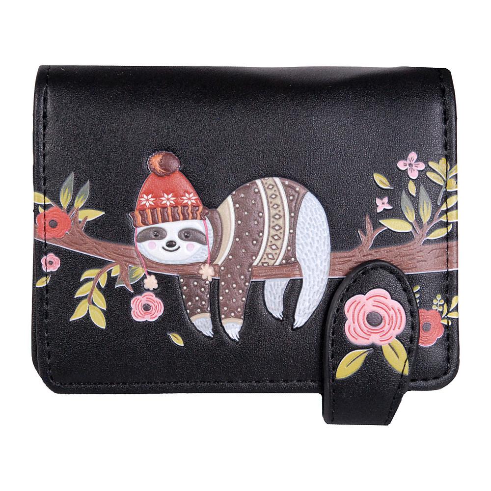 Just Chillin Sloth - Small Zipper Wallet