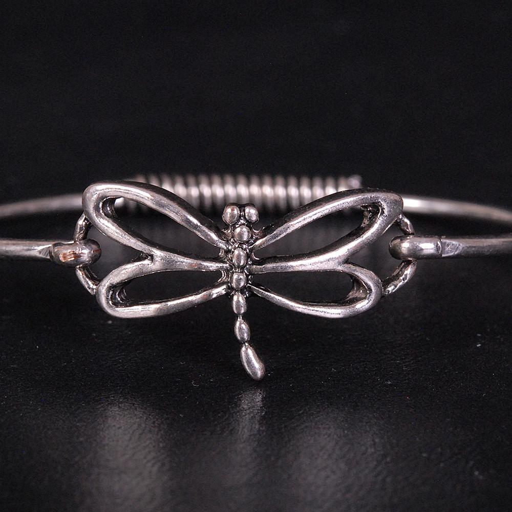Hinged Dragonfly Bracelet