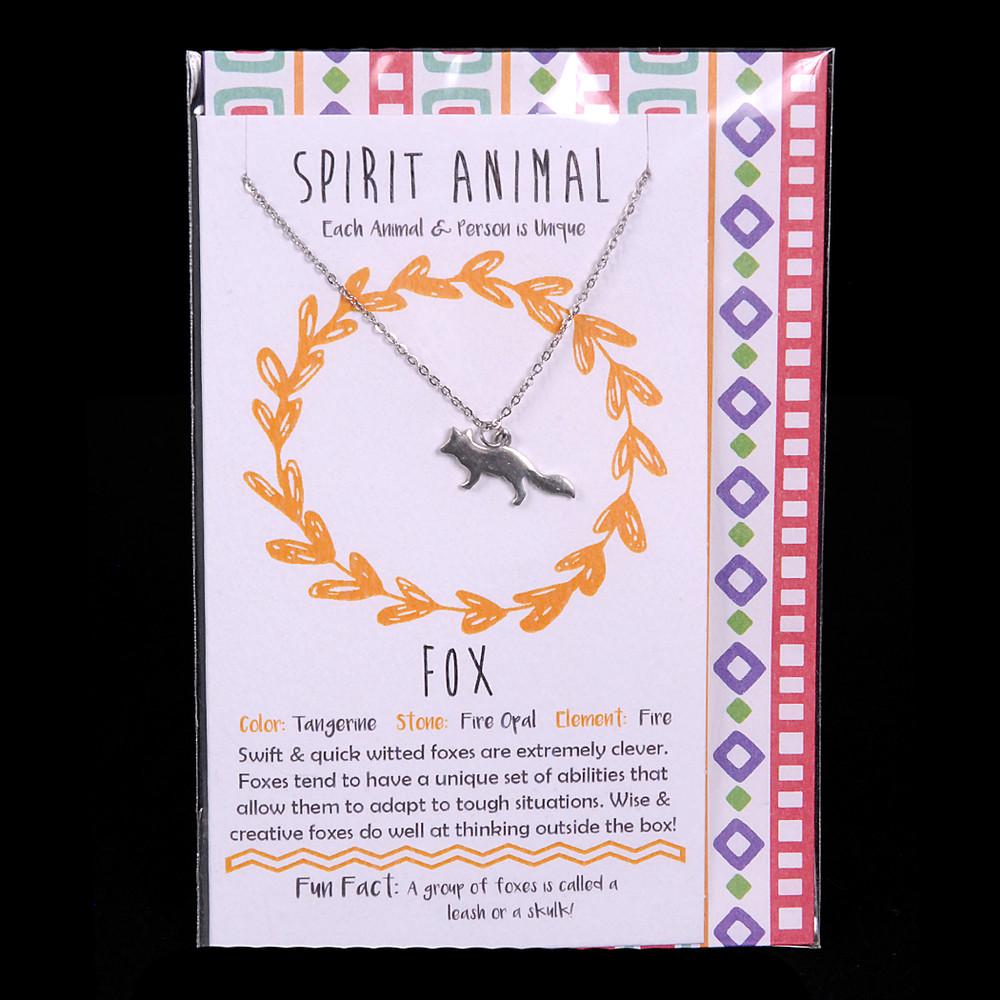 Fox - Spirit Animal Necklace