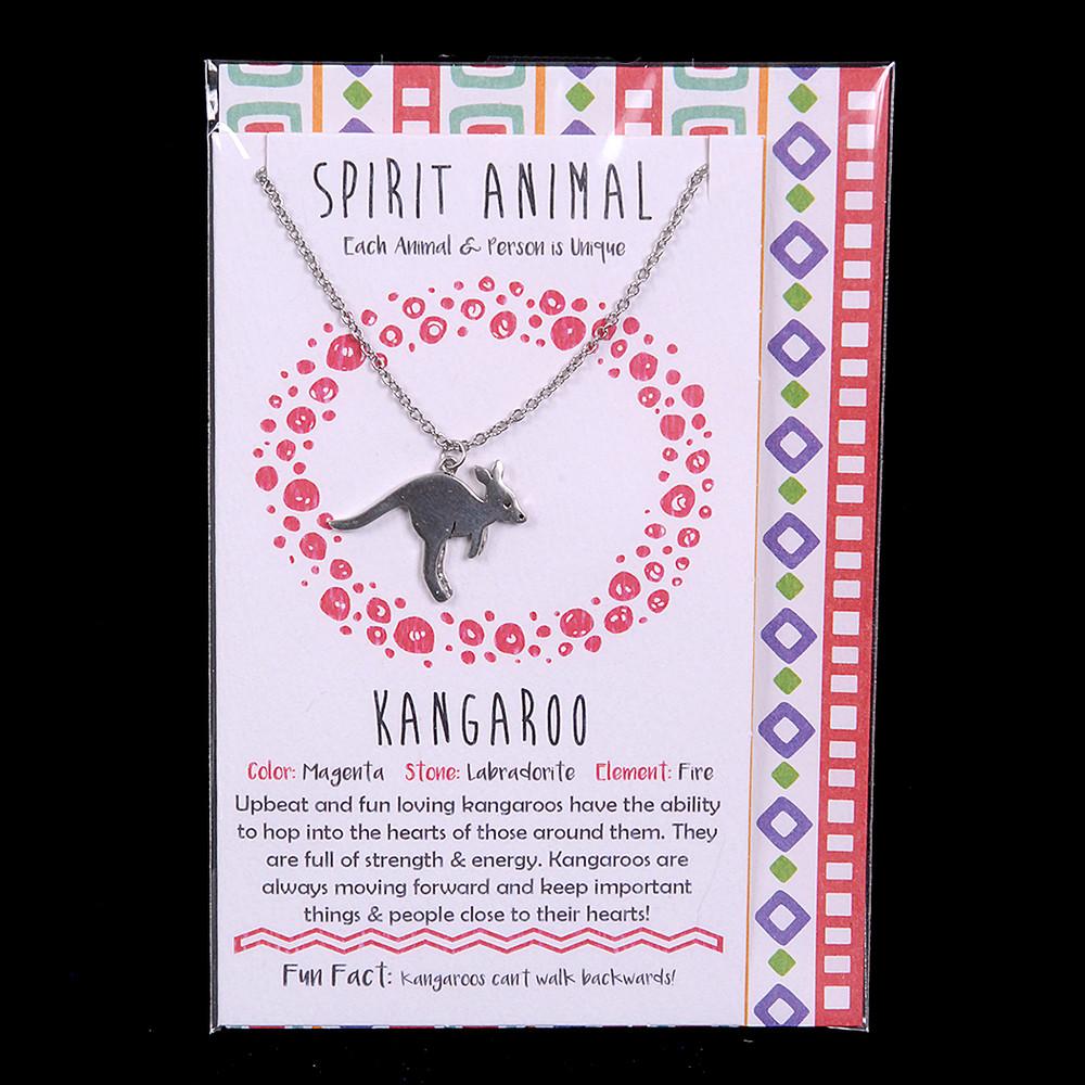Kangaroo - Spirit Animal Necklace