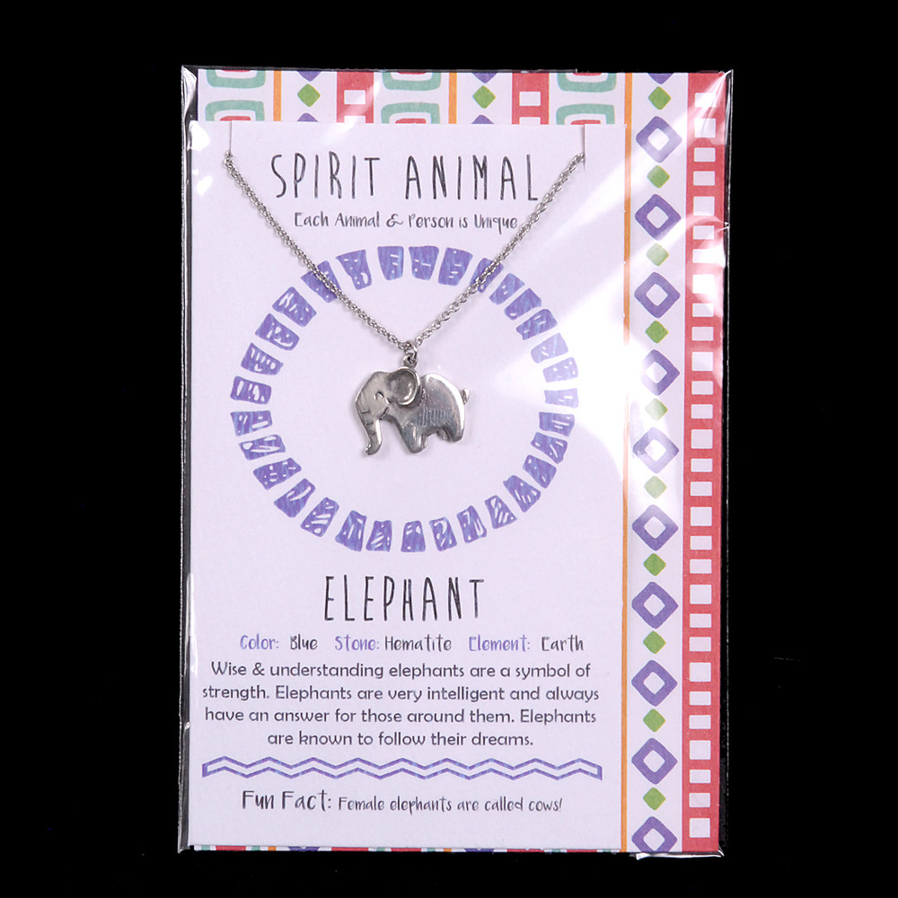 Elephant - Spirit Animal Necklace
