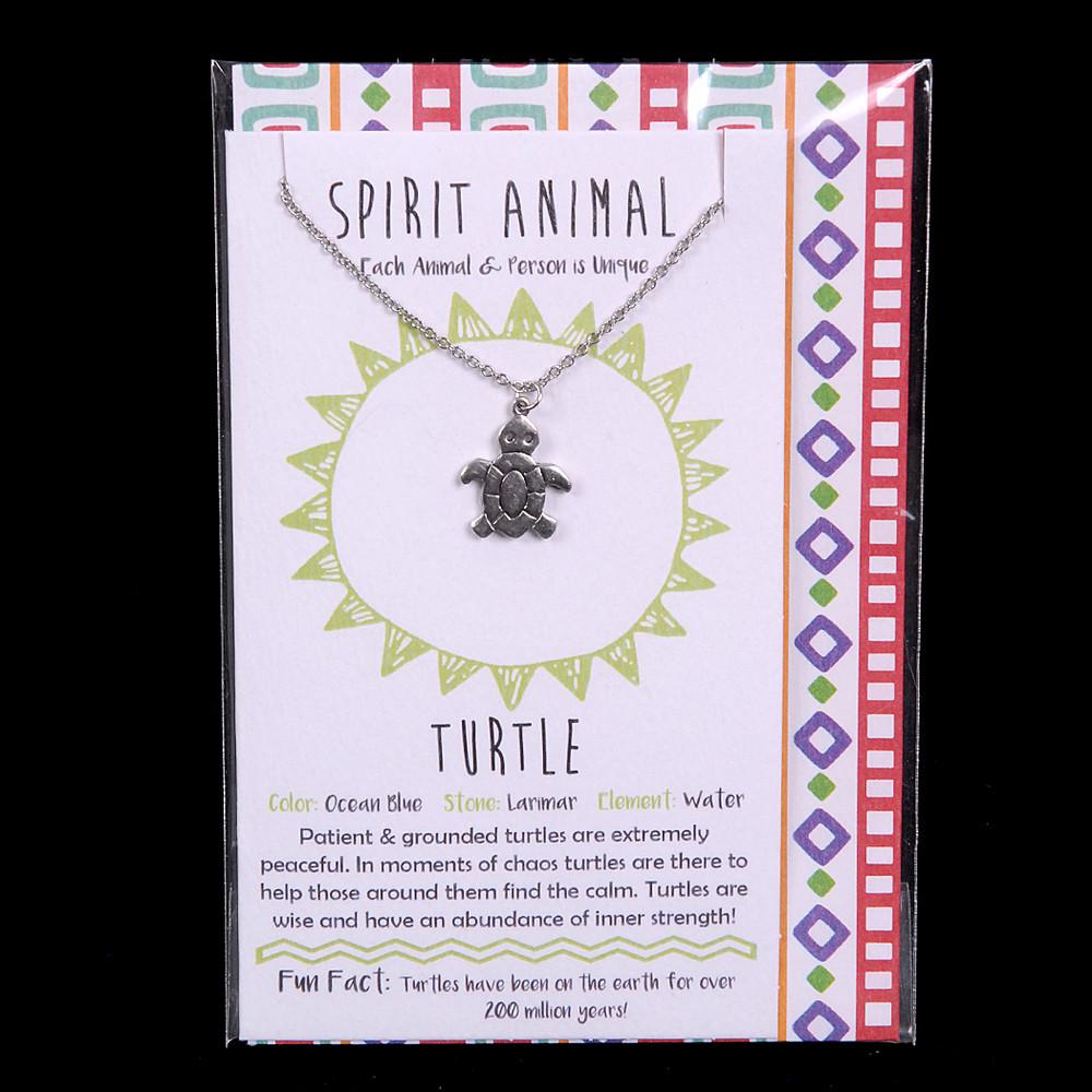 Turtle - Spirit Animal Necklace