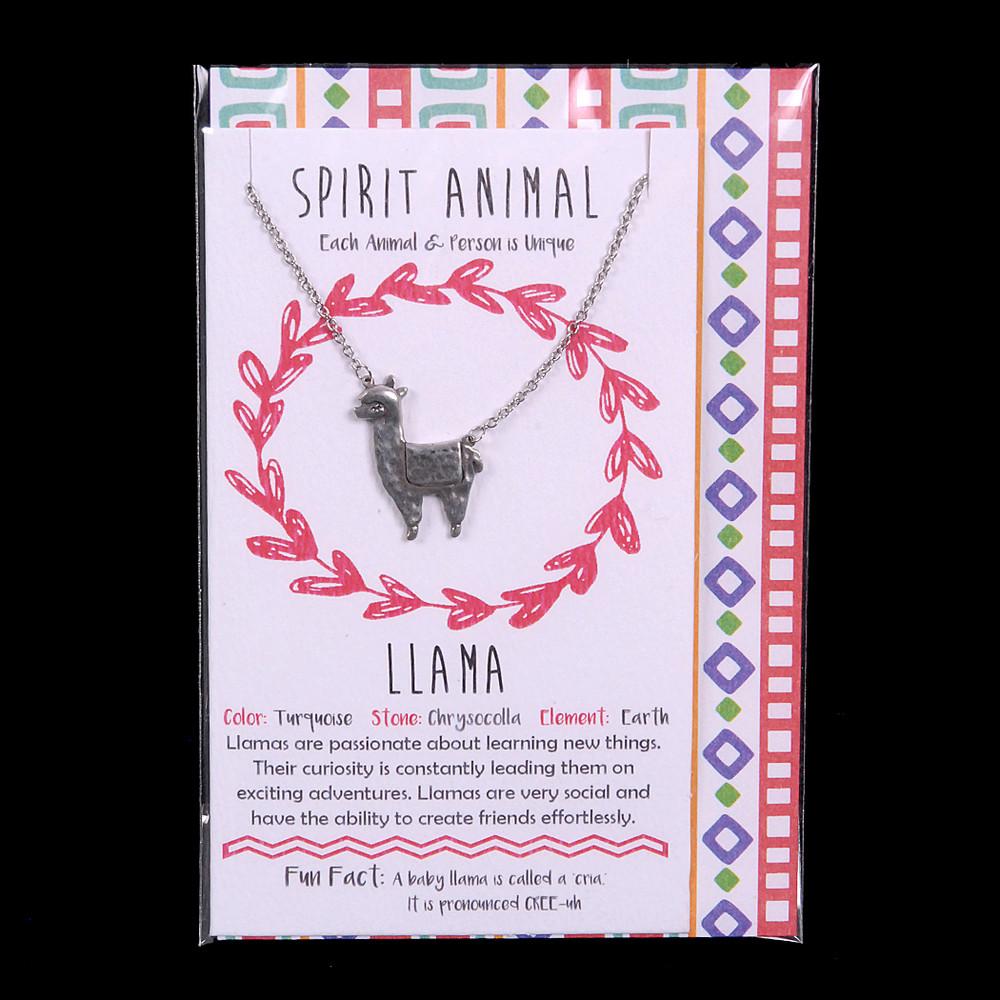 LLama - Spirit Animal Necklace