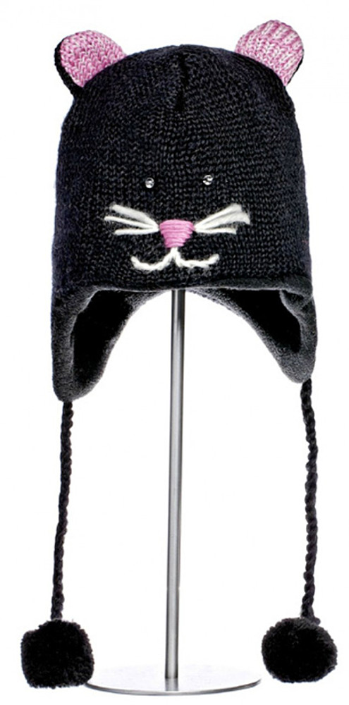 Knitted Kitty Cat Hat - Knitwit Hat - Kids Size bed7d7e3eed