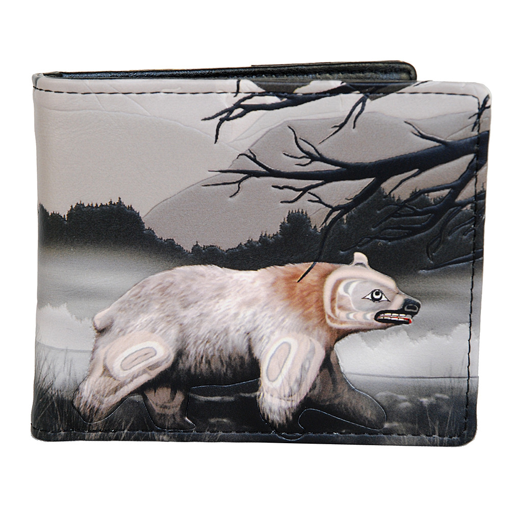 Northern Spirit Bear - Mens Wallet