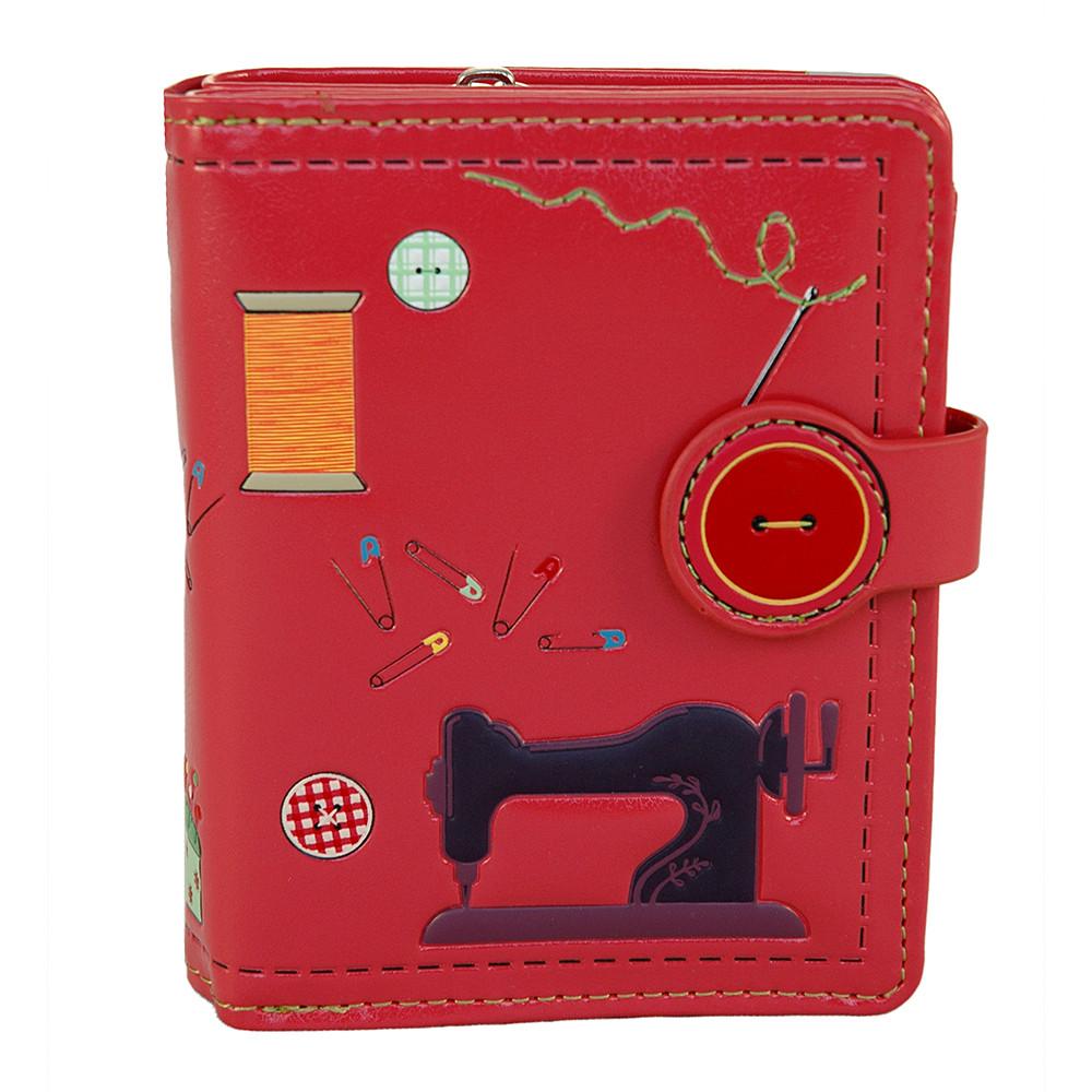 Sewing Needs - Small Zipper Wallet - Salmon