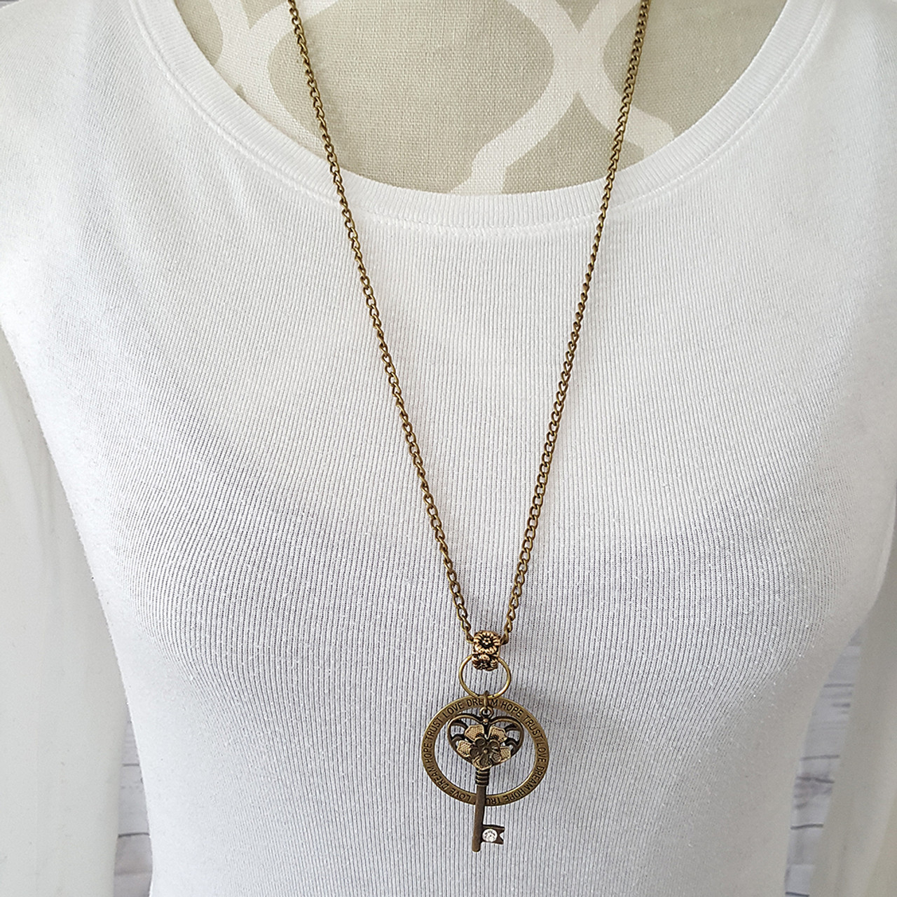 Long Vintage Necklace