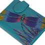 Brilliant Summer Dragonfly - Small Zipper Wallet