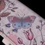 Vintage Butterfly Garden - Large Zipper Wallet