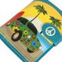 Groovy Surf Paradise - Small Zipper Wallet