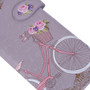 D'amour - Paris Bicycle - Large Zipper Wallet