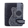 Artistic Guitar - Small Zipper Wallet