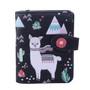 Llama Pattern - Small Zipper Wallet