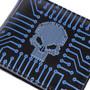 Circuit Board Skull Pattern - Mens Wallet