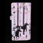 Forest Horses - Large Zipper Wallet