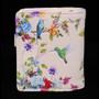 Vintage Hummingbird Garden - Small Zipper Wallet