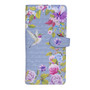 Vintage Hummingbird Garden - Large Zipper Wallet