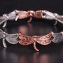 Tri-Colored Dragonfly Bracelet