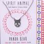 Panda Bear - Spirit Animal Necklace