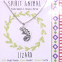 Lizard - Spirit Animal Necklace