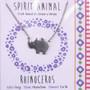 Rhinoceros - Spirit Animal Necklace