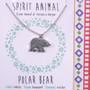 Polar Bear - Spirit Animal Necklace