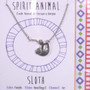 Sloth - Spirit Animal Necklace
