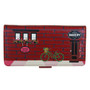 Vintage Store Front - Large Zippered Wallet - Red