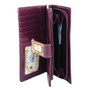 Vintage Store Front - Large Zippered Wallet - Purple