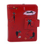 Crazy Cats - Small Zipper Wallet - Red